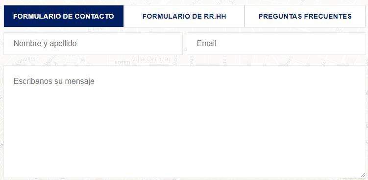 formulario de contacto seguro cnp
