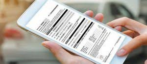 poliza en el celular renault proteccion