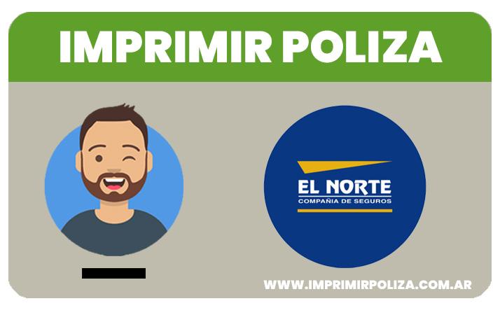 imprimir poliza el norte seguros