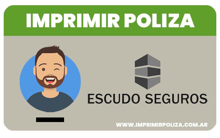 imprimir poliza escudo seguros