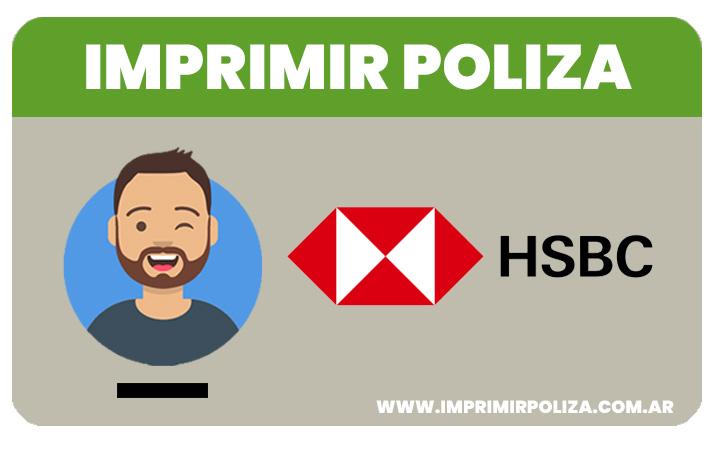 imprimir poliza hsbc seguros
