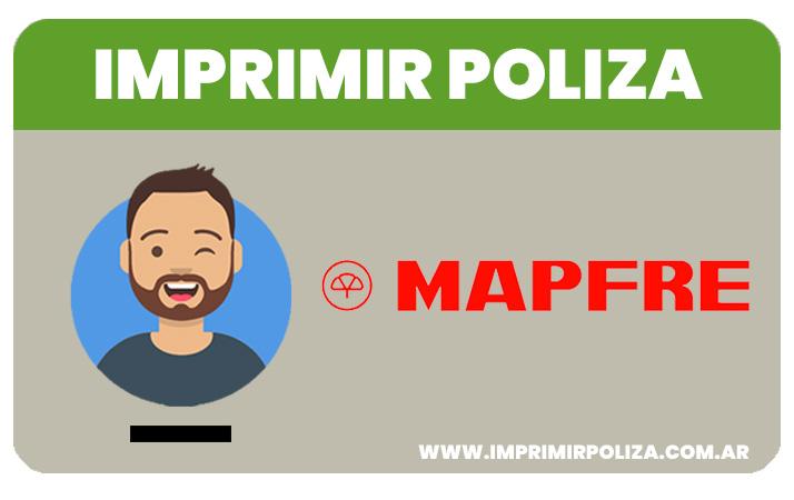 imprimir poliza mapfre
