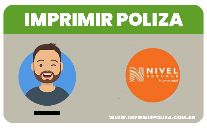 imprimir poliza nivel seguros