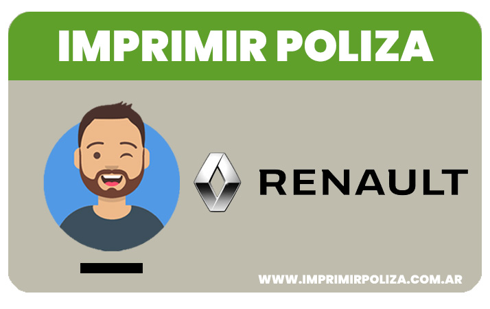 imprimir poliza renault proteccion