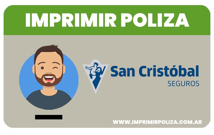 imprimir poliza san cristobal