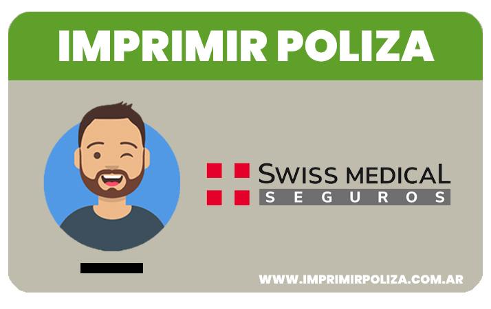 imprimir poliza swiss medical