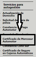 descargar certificado de mercosur