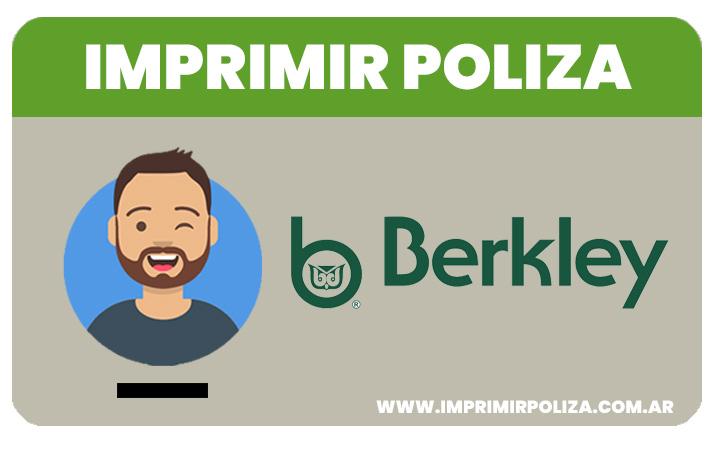 imprimri poliza seguros berkley