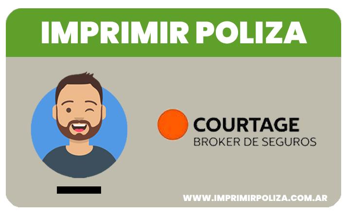 imprimir poliza courtage seguros