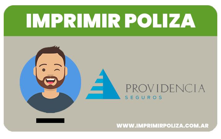 imprimir poliza seguros providencia
